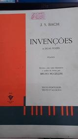 Invenções A Duas Vozes Piano-método