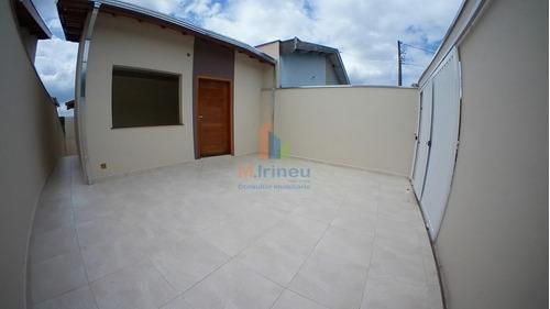Casa Com 3 Dormitórios À Venda, 90 M² Por R$ 350.000,00 - Jardim Santa Izabel - Hortolândia/sp - Ca0122