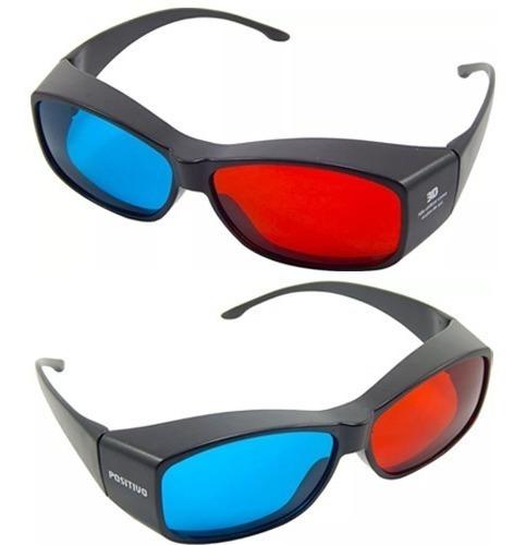 20pçs Óculos 3d Ultra Resistente Ótima Qualidade Red Cyan