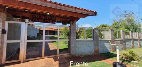 Chácara Com 3 Dormitórios À Venda, 1000 M² Por R$ 1.200.000 - Jardim Planalto - Paulínia/sp - Ch0011
