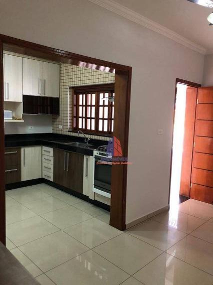 Casa Residencial À Venda, Parque Nova Carioba, Americana. - Ca0629