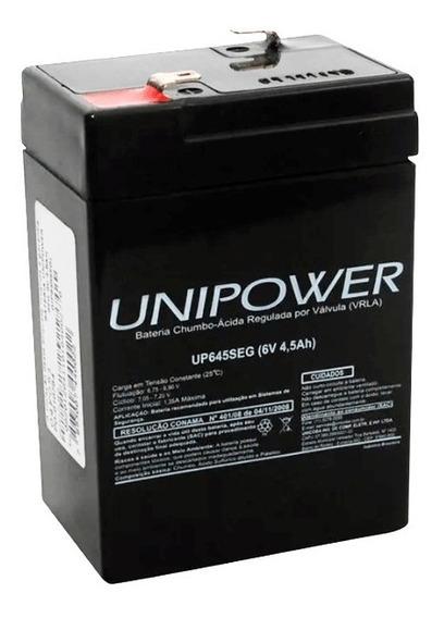 Bateria Selada 6v 4,5ah Para Moto Elétrica