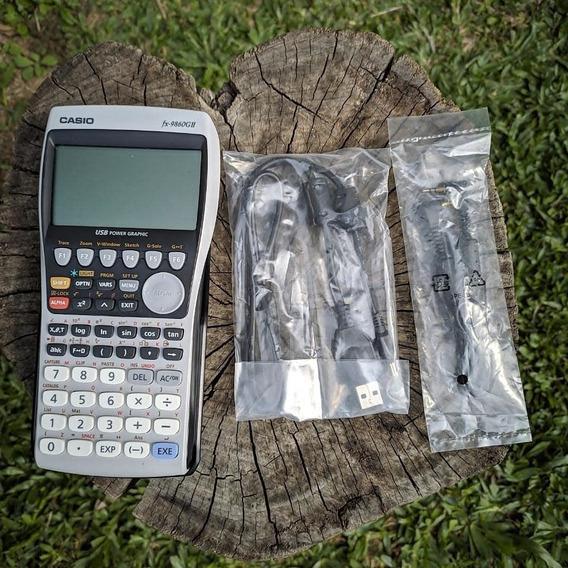 Calculadora Casio Fx 9860 Gii Gráfica Top Das Galáxias...