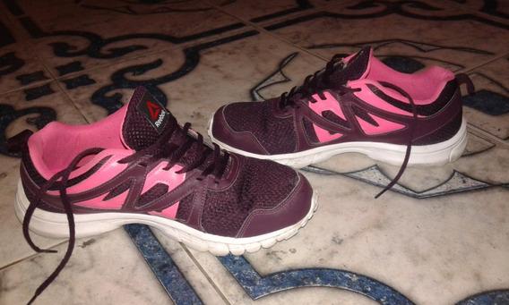 Zapatillas Rebook Runningk Mujer Talle 9 Us