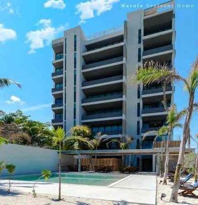 Penthouse Con Roof Garden Y Vista Al Mar En Marola