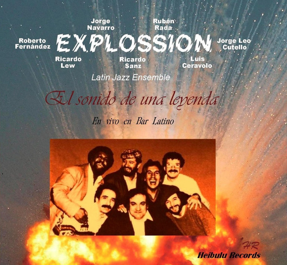 Explossion Navarro Rada Fats Fernández Lew Sanz - Cd Nuevo
