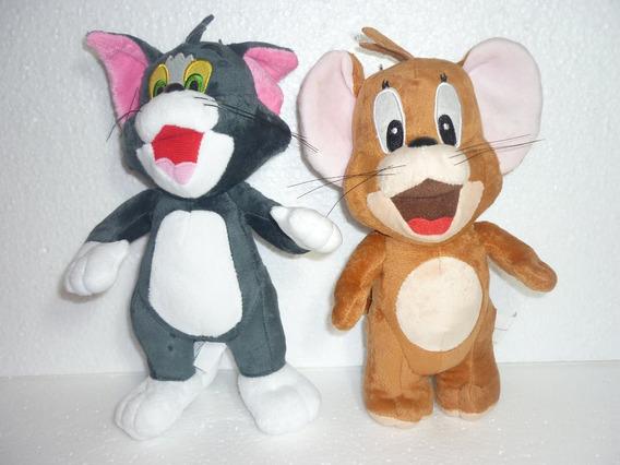 Kit 2 - Pelúcias Tom & Jerry 25cm