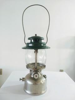 Lampião Antigo Coleman 257 Grante Querosene Cromado Original