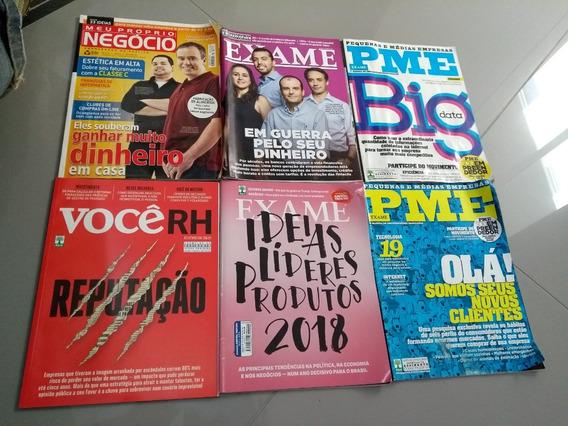 Pme, Exame, Vocerh, Meu Proprio Negocio - Lote 6 Revistas
