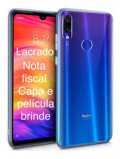 Xiaomi Note 7 64gb + 4gb Ram - Global+capa+película E Nota F