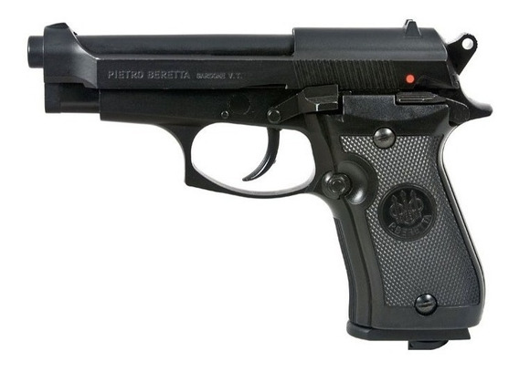 Pistola Beretta M84 Blowback Full Metal + 5 Co2 +200 Balines