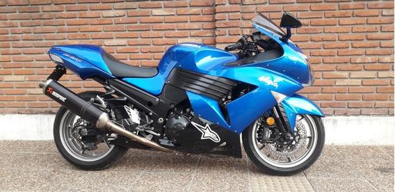 Kawasaki Ninja Zx 14 Con Accesorios Permuto Qr Motors