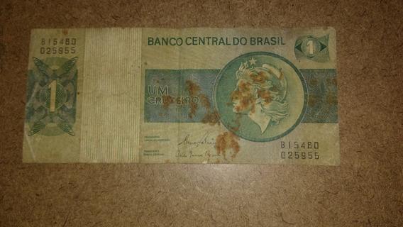One Dólar Selo Verde Series Cruzado Brasileiro