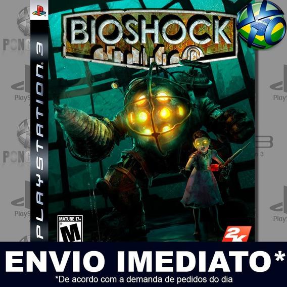 Bioshock 1 Ps3 Psn Jogo Em Promoção A Pronta Entrega