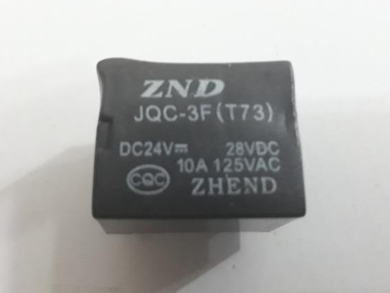 Rele Znd Jqc-3f (t73) 24v 5 Terminais