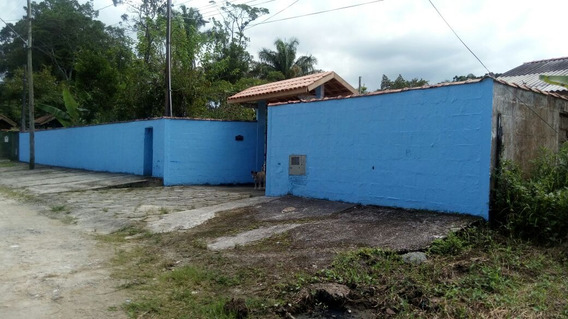 Chácara Em Peruíbe Piscina Lago Peixes 2 Casas Permuto Sp