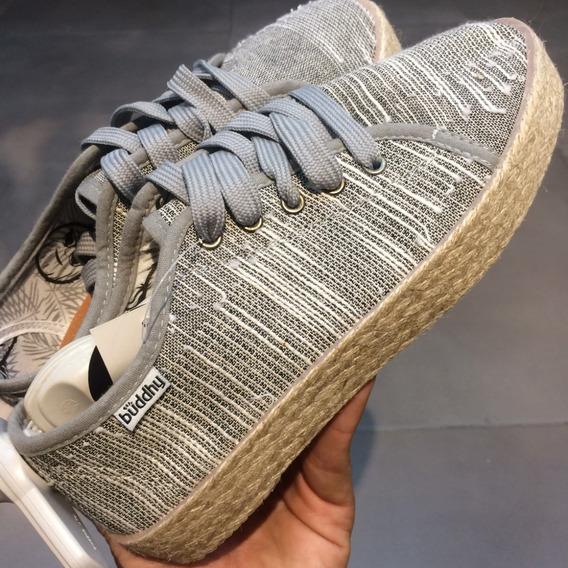 Zapatos Buddhy Originales Para Damas - Bd16051w - Grey