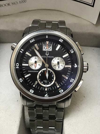 Relógio Nivel Omega Cronógrafo Accutron Pilots Bulova Swiss