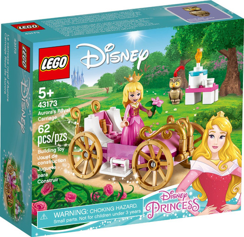 Pr Carruaje Real De Aurora Lego - 43173