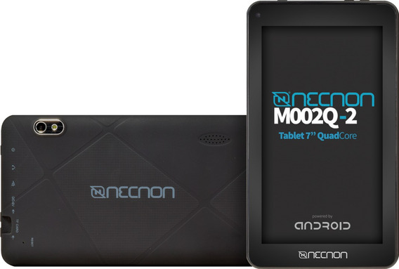 Tablet 7 Hd Necnon 2q2 Certificado And8.1 8gb 1gb Qc Bt Negr
