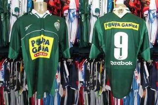 Guaraní 1999 Camisa Titular Tamanho Gg Número 9.