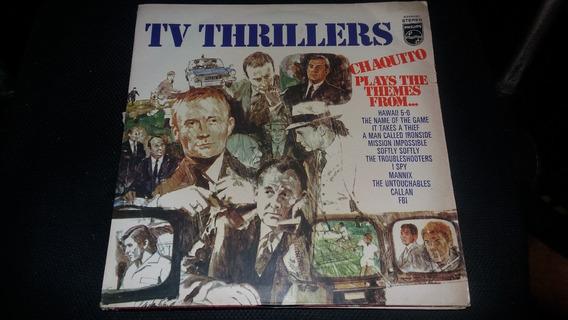 Lp Vinil Tv Trhillers Chaquito Hawaii 5-0 I Spy Callan Fbi