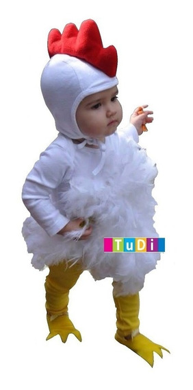 Disfraz Pollo Niño Pájaro Pollito Halloween Enviogratis Tudi