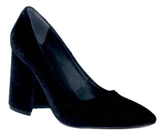 Zapatos Pana Taco Alto | Zapatos Bajos Invierno | Nazaria