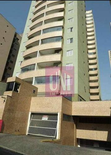 Imagem 1 de 17 de Apartamento Com 3 Dormitórios À Venda, 106 M² Por R$ 610.000 - Vila Valparaíso - Santo André/sp - Ap1826