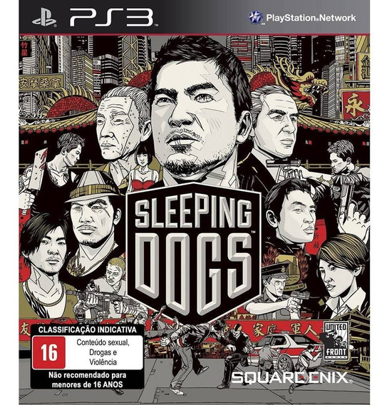 Jogo Sleeping Dogs Ps3 - Original - Lacrado - Mídia Física