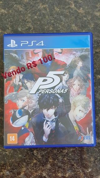 Persona 5 Ps4 Primeiro Dono