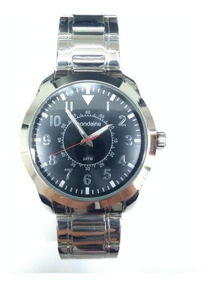 Relógio Mondaine Masculino Prata 99138g0mvne1ka Vltrine Foto