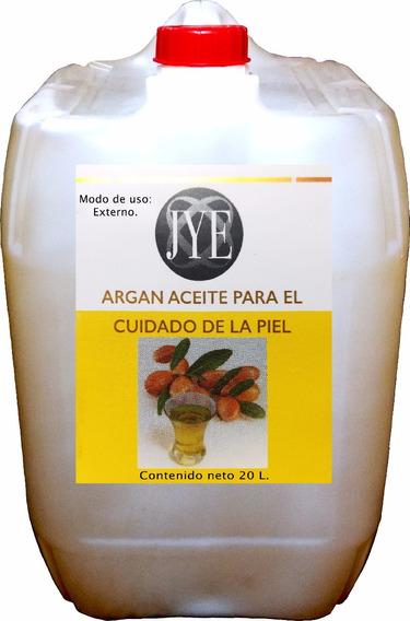 Aceite Natural Jye De Argan Puro 20 Litros A Granel