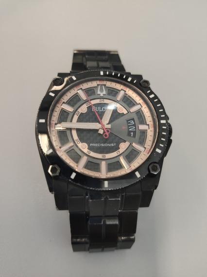 Relógio Bulova 98b143 Rosé Precisionist Ótimo Estado.