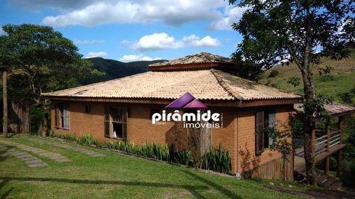 Imagem 1 de 8 de Chácara Com 3 Dormitórios À Venda, 600 M² Por R$ 725.000,00 - Souzas - Monteiro Lobato/sp - Ch0118