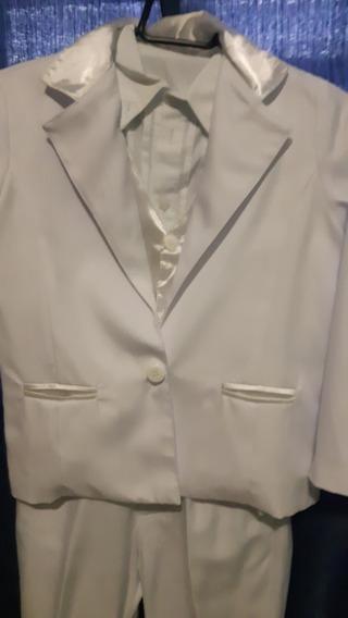 Terno Branco Para Paje