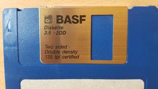 Diskette Disquetes 3,5 - 2dd Basf Doble Densidad 720 Kb