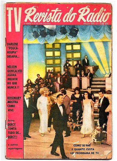 Revista Do Radio N° 891 - 1966 - Rosemary Dercy Goncalves