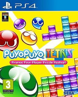 Ps4 Puyo Puyo Tetris Uk Import Region Fr
