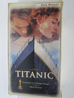 Coleccion Titanic Vhs 2 Cassette Romance Leonardo Dicaprio