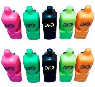 Silbato Df Sin Bolilla Por Unidad Apto Agua Fox Df 2 Unid.
