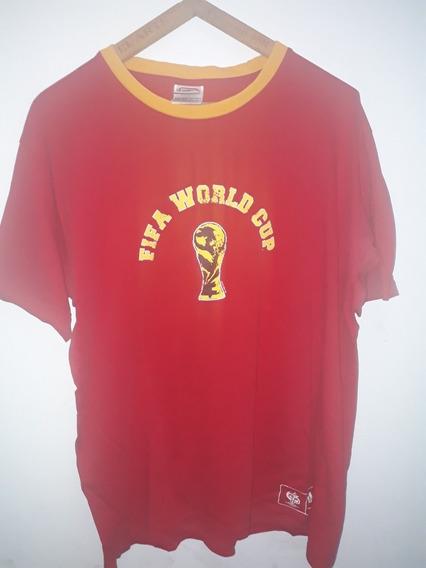 Remera De Algodon adidas España #7 Mundial 2006 Xl