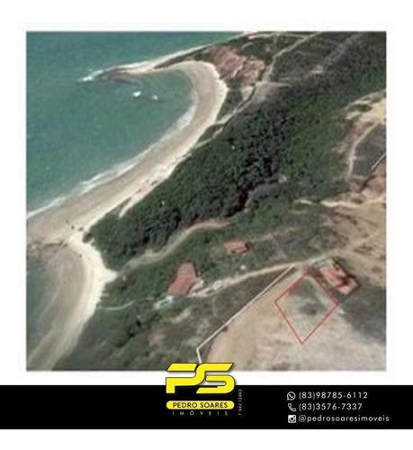 Imagem 1 de 1 de (oportunidade)  Terreno À Venda, 900 M² Por R$ 250.000 - Cidade Balneária Novo Mundo I - Conde/pb - Te0235