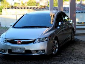 Honda New Civic 1.8 Exs Top De Linha Borboletas No Voalnte