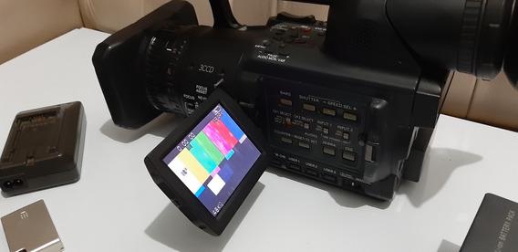 Panasonic Hvx200 + Cartão 32g + Lente