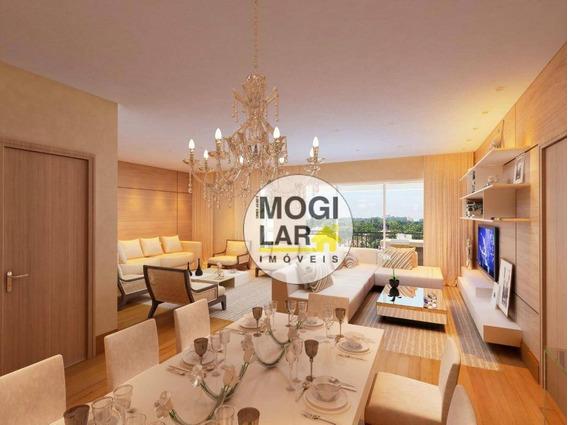Apartamento Em Mogi Das Cruzes, - Ap0254