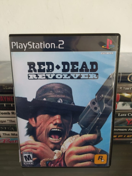 Jogo Red Dead Revolver - Ps2 - Original