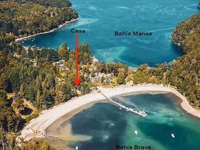Alquiler Turítico, Increible Ubicación Costa De Lago Nahuel Huapi