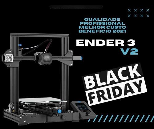 Imagem 1 de 10 de Ender 3 V2 Impressora 3d Creality Pronta Entrega Shop