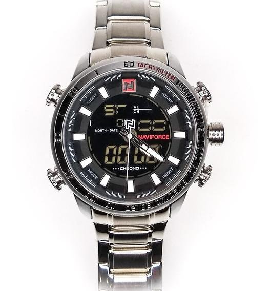 Relógio Masculino Naviforce 9093 Luxo Original + Brinde